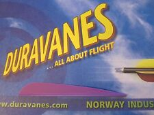 """NEW Norway Duravanes 4"""" Purple 100 pack Arrow Archery LOTS More Listed"""