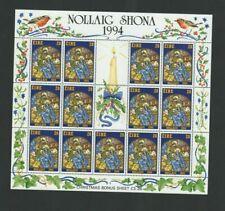 IRELAND Stamps - 1994 Christmas - Nativity Sheetlet 13 x 28p MNH