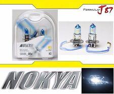 Nokya 5000K White H3 Nok8015 80W DRL Daytime Light Cornering Two Bulbs Replace