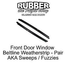 1999 - 2007 Chevy GMC Truck SUV Window Beltline Weatherstrip - Front Door Outer