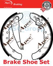 Apec Braking Replacement 230mm x 40mm Drum Brake Shoes Set SHU498