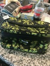 Elle Cosmetic Case Makeup Bag Organizer Travel Kit Zipper