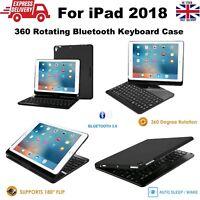 360° Rotating Wireless Keyboard Folio Case for iPad 9.7 (6th Gen) A1893/A1954