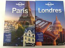 Guia Lonely Planet Paris edición 2013+ Londres edición 2012