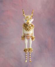 "Glitterville Christmas Anthropologie La Renne Reindeer Figure Resin 18"""
