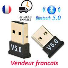 Clé USB Bluetooth V5.0 mini adaptateur Dongle Sans Fil pour PC Windows