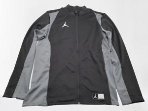 Nike Air Jordan NWT Mens Size Large TALL Flight Knit Jacket Grey Dark 924707-060