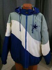 VTG Apex One Proline Dallas Cowboys Pullover Hooded Coat Jacket Sz XL