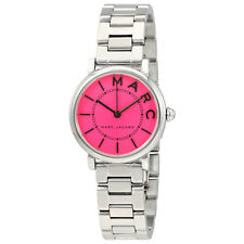 Marc Jacobs Roxy Fuchsia Dial Ladies Stainless Steel Watch MJ3528