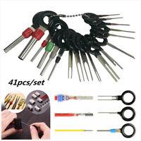 41x Auto Terminal Entfernung Werkzeug Kit Wiring Anschluss Pin Freigabe Abzieher
