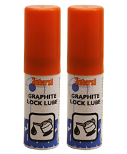 New listing 2 X Ambersil 15ml Graphite Lock Bike Padlock Lubricant Aerosol Spray Set (33000)
