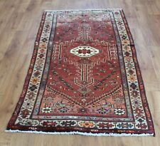 Traditional Vintage Wool Handmade Classic Oriental Area Rug Carpet 184 X 90 cm