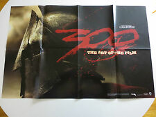300 Movie - The Art of the Film Zack Synder 2006 Promo Poster 34x22 (PG303)