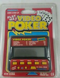 Radica Video Poker 410 Electronic Handheld Game New