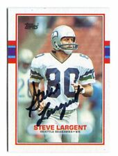 Steve Largent Auto For Sale Ebay
