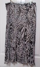 LADIES SKIRT LONG SIZE 14-16 FLARED AT THE BOTTOM