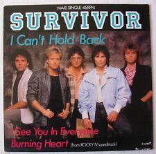 "SURVIVOR (Maxi 45T 12"")  I CAN'T HOLD BACK"