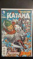 KATANA #4a (2013 The New 52, DC Comics) ~ VF/NM Comic Book