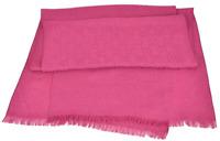 Gucci Womens Fuchsia Pink Guccissima Monogram Scarf 8810