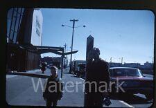 1961 35mm Kodachrome Photo slide man with movie camera   San Francisco CA