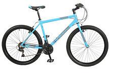 """Falcon Progress Gents 26"""" Wheel 18 Speed Alloy MTB Mountain Bike Blue F2616106"""
