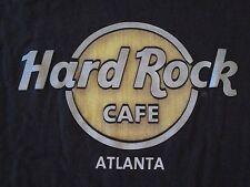 Hard Rock Cafe Atlanta Souvenir Vacation Black T Shirt Size M