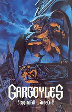 GARGOYLES 1994 BUENA VISTA TELEVISON PROMO CARD SHEET