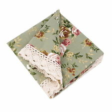 Table Cloth with Floral and Nature Patterns