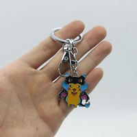 Anime Pokemon Pocket Monster Pikachu Mega Charizard Keyring KeyChain Pendant Fan