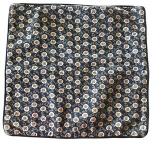 "Ikea Lovkoja Cushion Cover Pillow Case LÖVKOJA Blue Floral Dots 20""x20"" Sham"