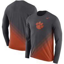Clemson Tigers Nike Sideline Gradient Dri-FIT Long Sleeve T-Shirt XL