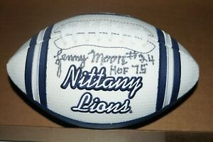 PENN STATE NITTANY LIONS LENNY MOORE SIGNED JERSEY FOOTBALL