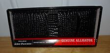 VINTAGE NEW ENGLISHTOWN LEATHER GENUINE ALLIGATOR GRAINED COWHIDE WALLET