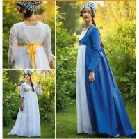 S8941 Sewing Pattern Historical Dress Robe Regency Jane Austen Pride & Prejudice