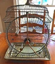 1870s - Rare Antique Hendryx Bird Cage Victorian Revolving Ferris Wheel Cage
