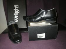 FRANK WRIGHT UK CUBAN HEEL BLACK SHOE BOOT SLIP ON CHELSEA UK 7 US 8 9 MEN EU 41