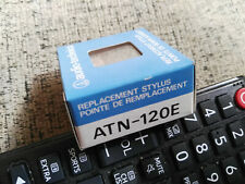 1 X GENUINE Audio Technica Replacement Stylus ATN 120 E- NEW IN BOX