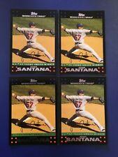 2007 Topps # 321 JOHAN SANTANA Lot 4 A.L. CY YOUNG Minnesota Twins