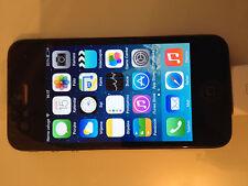 Apple iPhone 4 - 16GB Black FACTORY UNLOCKED Excellent Refurbished Smartphone
