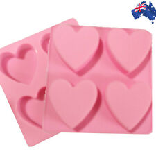 Silicone Love Hearts Cake Chocolate Jelly Baking Mould Mold DIY Tool HKIMO 6442