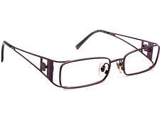 Versace Eyeglasses MOD. 1111 1178 Purple Metal Frame Italy 49[]17 135