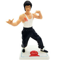 1 Pcs 28CM Bruce Lee Anime Action Figure statue Two Style In PVC model