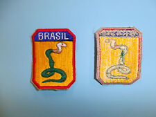 b3635 WW 2 Brazil Army Expeditionary Force Brasil 2nd model shoulder patch