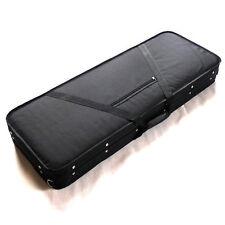 Electric Guitar Hard Case Plush Liined High Density Foam Shell Nylon Outer