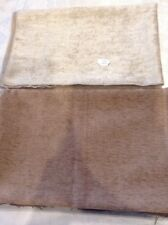 "2 Pieces Of Co Ordinating Chenille Like  Fabrics  27"" X  34"""