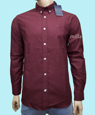 Tommy Hilfiger Men's Casual oxford Long Sleeves Shirt | Summer Sale