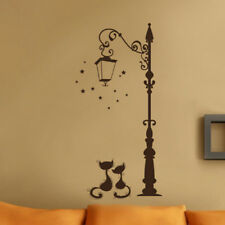 Cute Cat Fashion Vinyl Wall Stickers Living Room Kids Bedroom Decal Home Decor