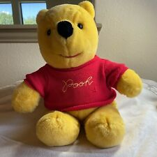 "Winnie The Pooh Walt Disney Vintage Sears Bear 18"" Plush W/Embroidered Sweater"