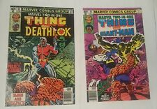 marvel two in one # 54,55 deathlok , giant-man