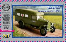 PST 1/72 GAZ-55 Ambulance (m.1943) # 72081
